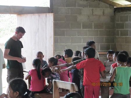 Ben education in Yupukari