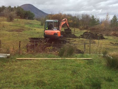 digger for new facilities small